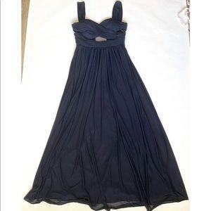 Burst Grey Elyse Dress